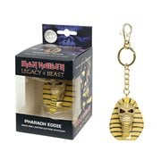 Iron Maiden Legacy of the Beast Pharaoh Head Key Chain