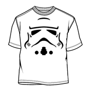 Star Wars Stormtrooper Face T-Shirt