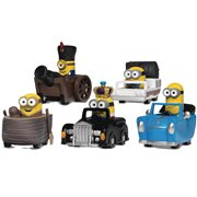 Despicable Me Pull Back Car Set
