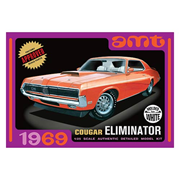 1969 Mercury Cougar Eliminator White Model Kit