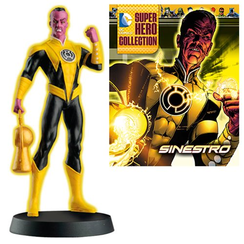 DC Superhero Sinestro Best of Figure with Magazine #23