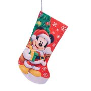 Mickey Mouse 19-Inch Printed Satin Stocking