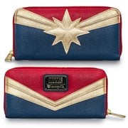 Captain Marvel Zip-Around Wallet