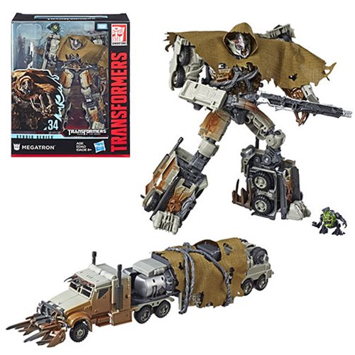 Transformers Studio Series Premier Leader Megatron, Not Mint