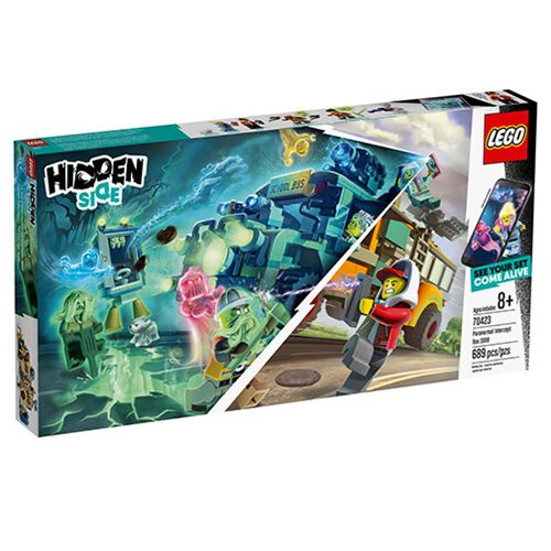 LEGO 70423 Hidden Side Paranormal Intercept Bus 3000