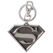 Superman Shield Logo DC Comics Pewter Key Chain