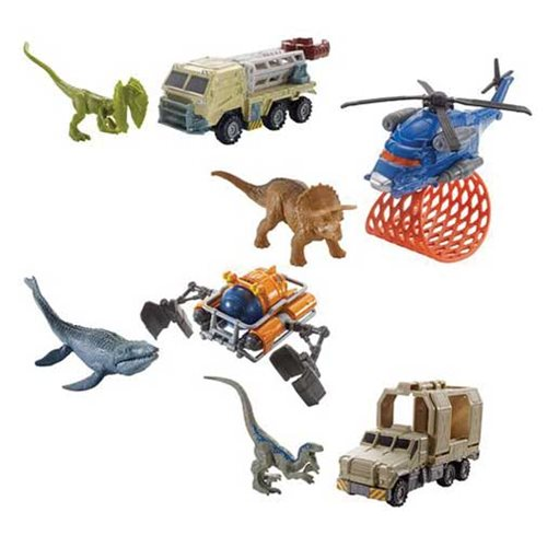 Jurassic World: Fallen Kingdom Matchbox Transporters Vehicle Case