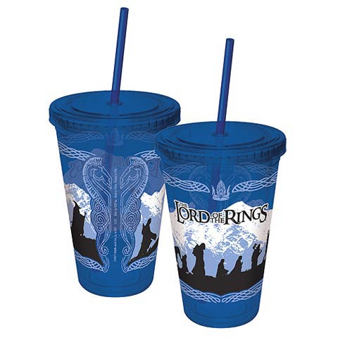 Lord of the Rings Fellowship of the Ring Acrylic Travel Cup