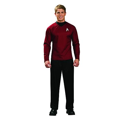 Star Trek Movie Uniform Red Shirt