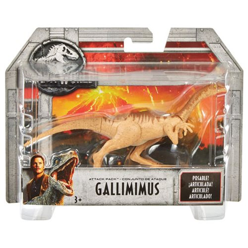 Jurassic World: Fallen Kingdom Attack Pack Action Figure Case