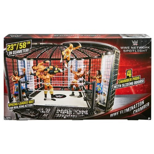 Wwe Elimination Chamber Playset Toys R Us Exclusive