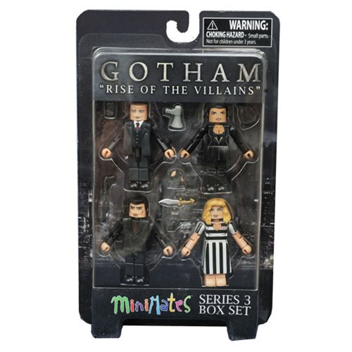 Gotham: Rise of the Villains Minimates Series 3 Box Set