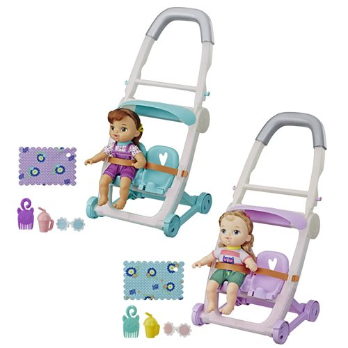 Baby Alive Littles Stroller and Doll Wave 2 Case