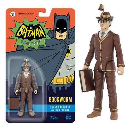Batman 1966 Bookworm Action Figure