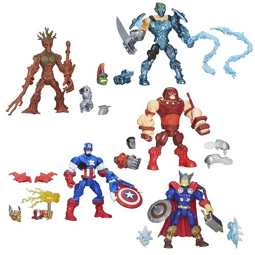 Marvel Super Hero Mashers Upgrade Action Figures Wave 5