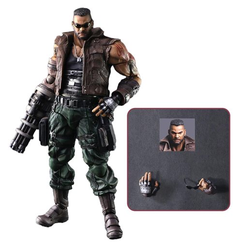 Final Fantasy VII Remake Barret Wallace Version 2 Play Arts Kai Action Figure