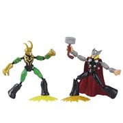 Marvel Avengers Bend and Flex Thor vs. Loki Action Figures