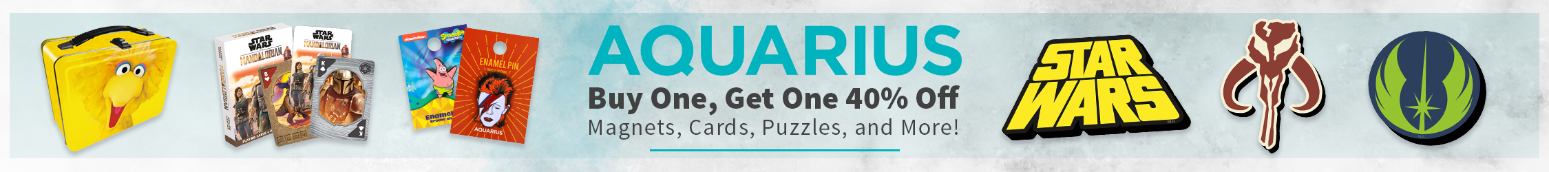 Aquarius Buy One Get One 40% Off