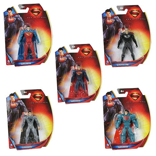 Superman Man of Steel 3 3/4-Inch Action Figure Case