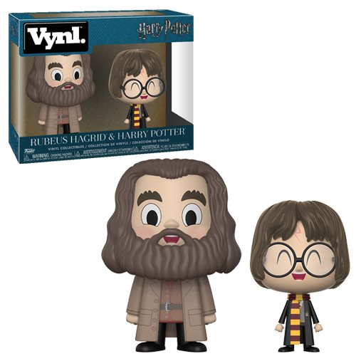 Harry Potter and Hagrid Vynl. Figure 2-Pack