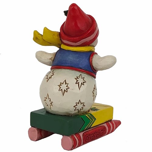 Crayola Snowman by Jim Shore Mini-Statue