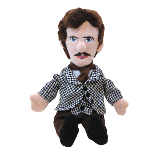 Nikola Tesla Little Thinker Plush