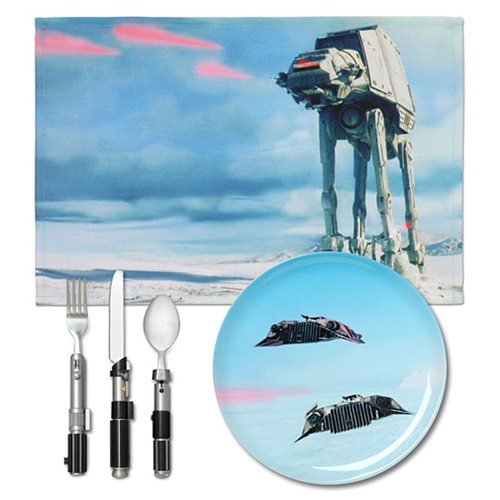 Star Wars Hoth Dinner Set