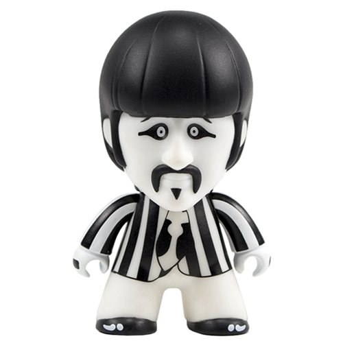 The Beatles Black and White Ringo 4 1/2-Inch Titans Vinyl Figure