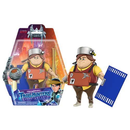 Trollhunters Toby 3 3/4-Inch Action Figure