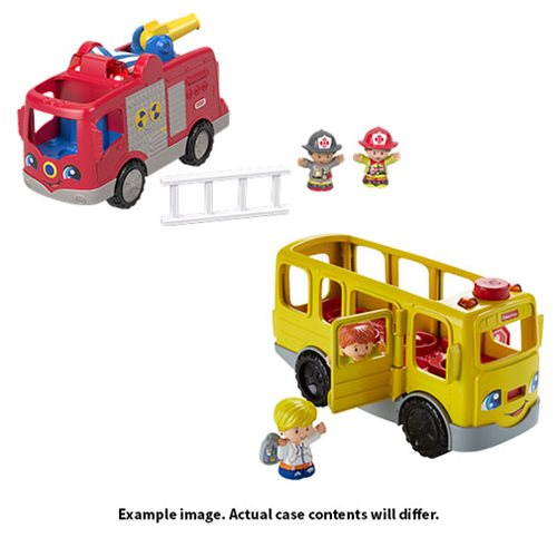 Little People Large Vehicle Playset Case