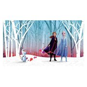 Frozen Woodland Tree Peel and Stick Wall Mural
