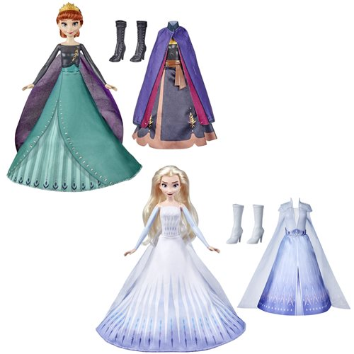 Frozen 2 Transforming Finale Dolls Wave 1 Set