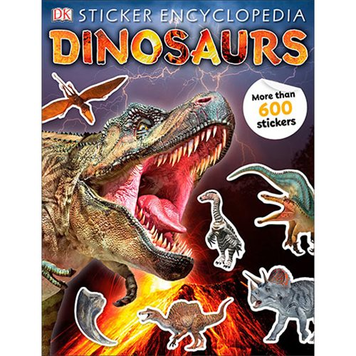 Dinosaurs Sticker Encyclopedia Paperback Book