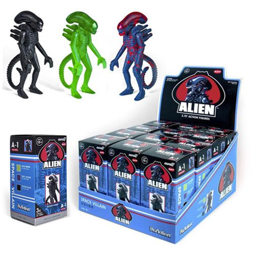 Alien Blind Box 3 3/4-Inch ReAction Figure Case