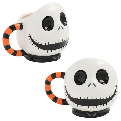 Nightmare Before Christmas Jack 20 oz. Sculpted Mug