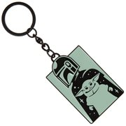 Mandalorian Mando and Child Key Chain