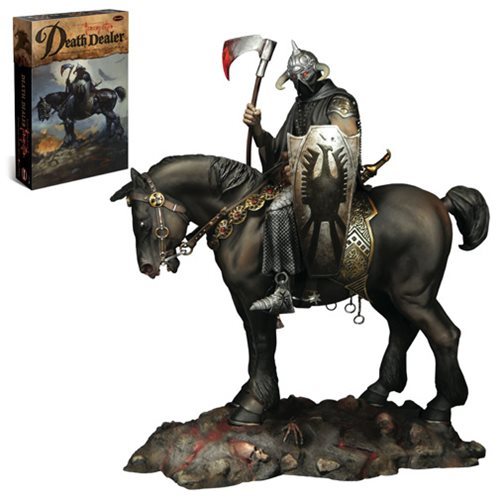 Frank Frazetta Death Dealer Model Kit, Not Mint