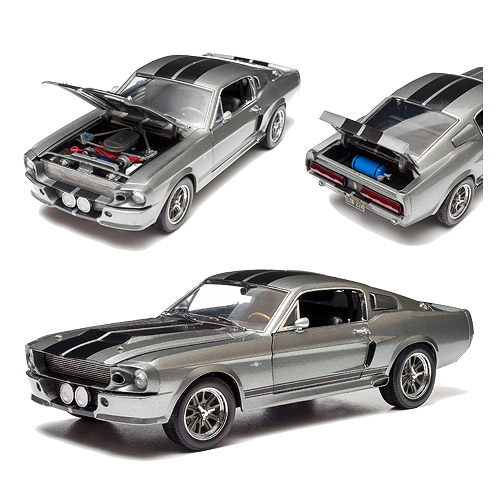 Gone in 60 Seconds 2000 Movie 1967 Ford Mustang Eleanor 1:18 Scale Die-Cast Metal Vehicle