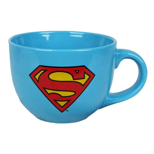 Superman Shield Logo 24 oz. Soup Mug