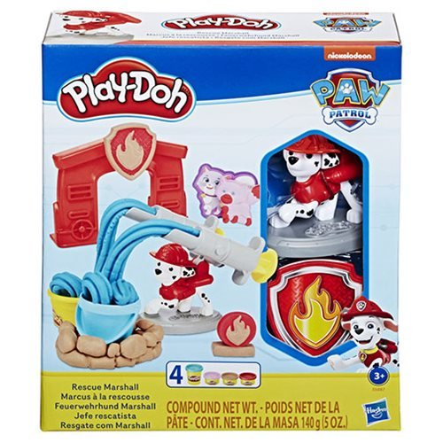 Play-Doh PAW Patrol Rescue Marshall Toy Figure and Toolset