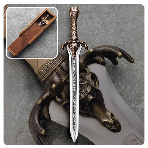 Conan the Barbarian Father's Sword Letter Opener