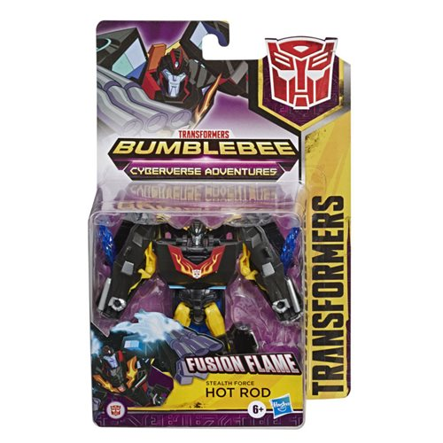 Transformers Cyberverse Warrior Stealth Force Hot Rod