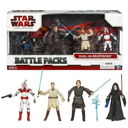 Star Wars Mustafar Lava Duel Action Figure Battle Pack Entertainment Earth