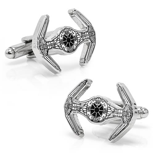 Star Wars Darth Vader TIE Fighter Blueprint Cufflinks