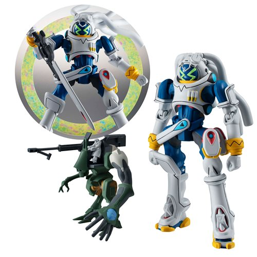 Overman King Gainer King Gainer and Gachico Robot Spirits Action Figure