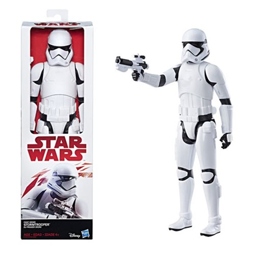Star Wars: The Last Jedi Hero Series 12-Inch First Order Stormtrooper Action Figure