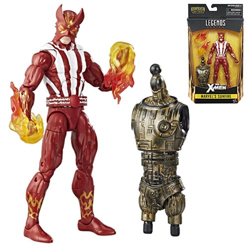 X-Men Marvel Legends 6-Inch Marvel's Sunfire Action Figure, Not Mint