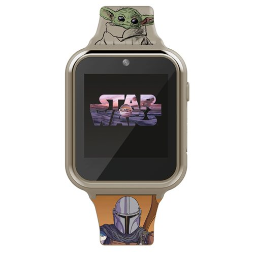 Star Wars The Mandalorian The Child Children's Touch Screen Smart Grey Watch