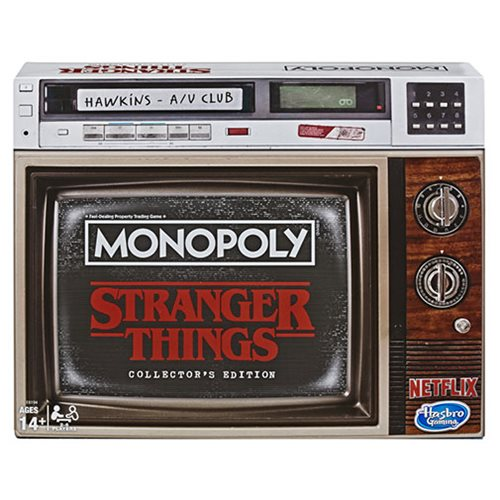 Stranger Things Collector's Edition Monopoly Game