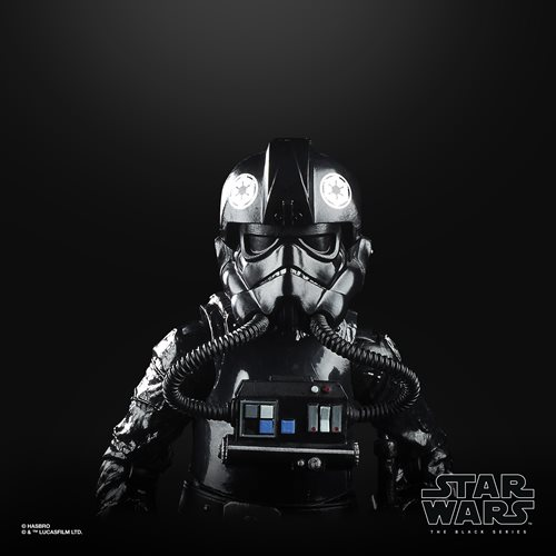 Star Wars The Black Series Empire Strikes Back 40th Anniversary 6-Inch TIE Fighter Pilot Action Figu